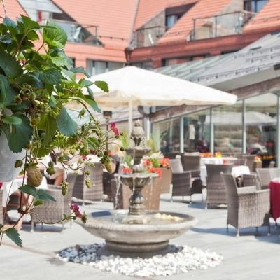 Suveterrass   Grand Rose SPA Hotell Saaremaal