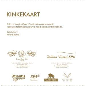 GrandRose_ViimsiSPA_Kinkekaart_Spaaduett1